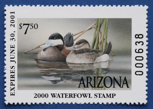 2000 Arizona State Duck Stamp (AZ14)