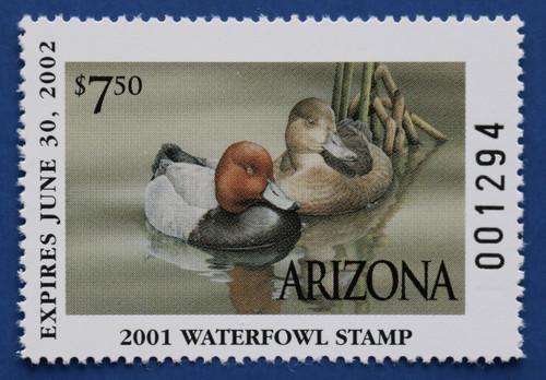 2001 Arizona State Duck Stamp (AZ15)