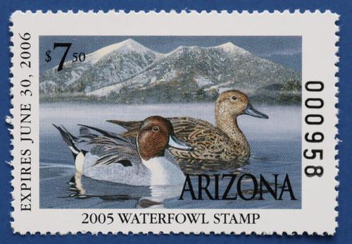 2005 Arizona State Duck Stamp (AZ19)
