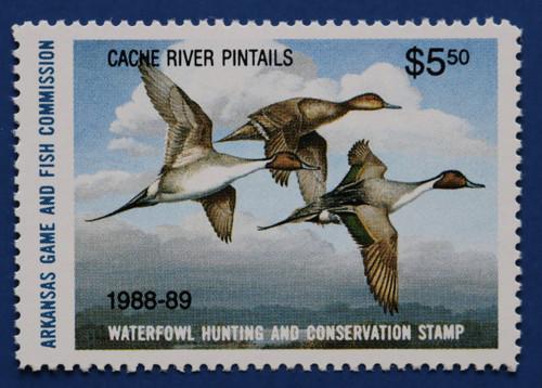 1988 Arkansas State Duck Stamp (AR08B)