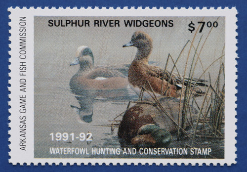 1991 Arkansas State Duck Stamp (AR11)