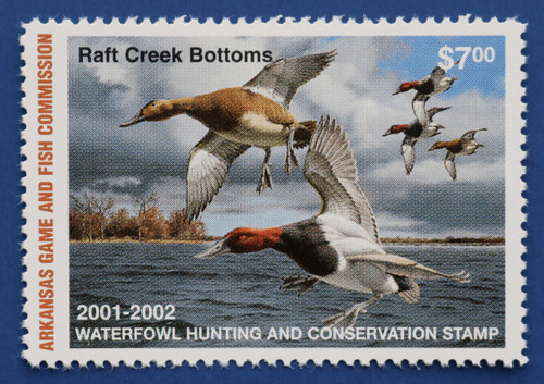 2001 Arkansas State Duck Stamp (AR21)