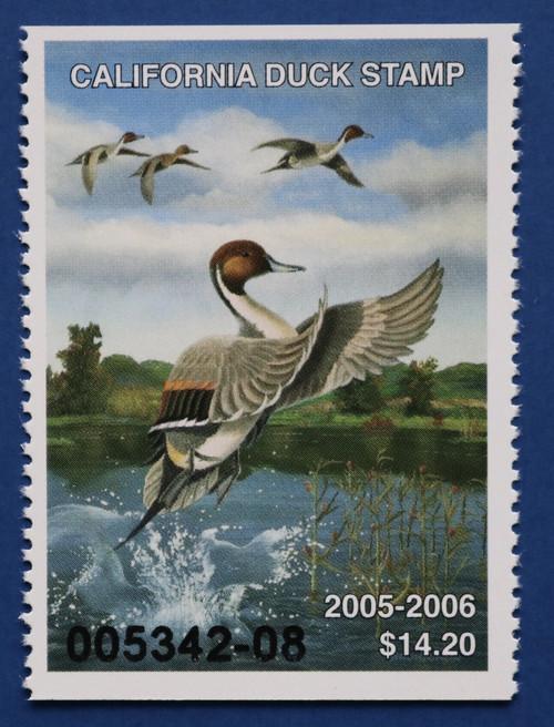 2005 California State Duck Stamp (CA35)