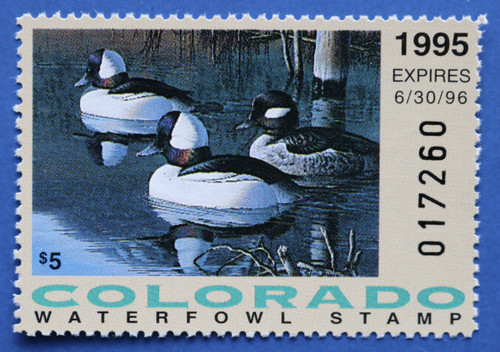 1995 Colorado State Duck Stamp (CO06)