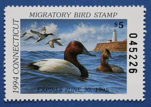 1994 Connecticut State Duck Stamp (CT02)