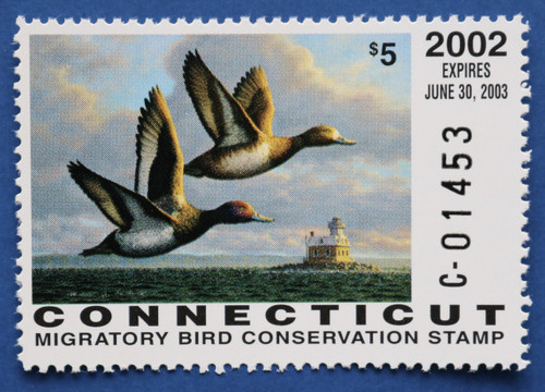 2002 Connecticut State Duck Stamp (CT10)