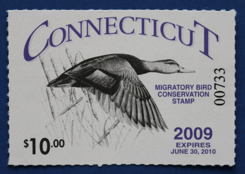 2009 Connecticut State Duck Stamp (CT17)