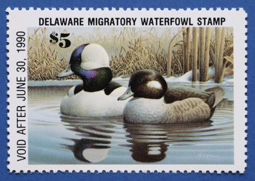 1989 Delaware State Duck Stamp (DE10)
