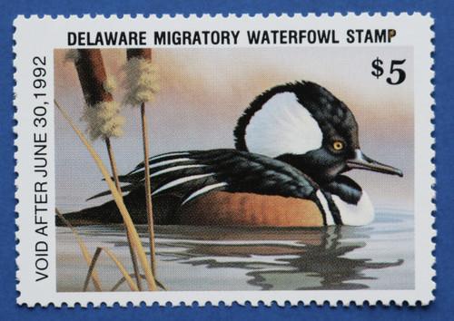 1991 Delaware State Duck Stamp (DE12)
