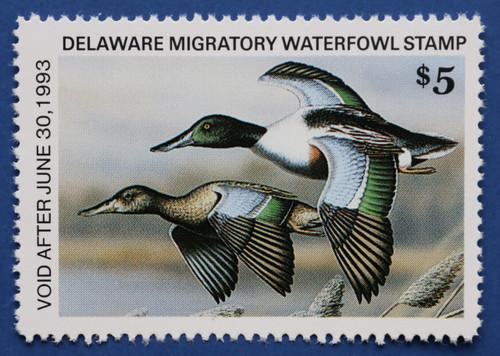 1992 Delaware State Duck Stamp (DE13)