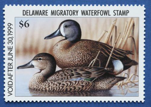1998 Delaware State Duck Stamp (DE19)