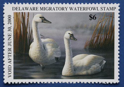 1999 Delaware State Duck Stamp (DE20)