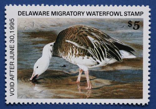 1994 Delaware State Duck Stamp - hunter type (DE15h)