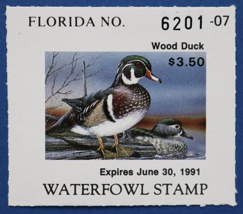 1990 Florida State Duck Stamp (FL12)