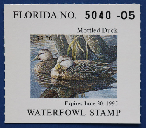 1994 Florida State Duck Stamp (FL16)