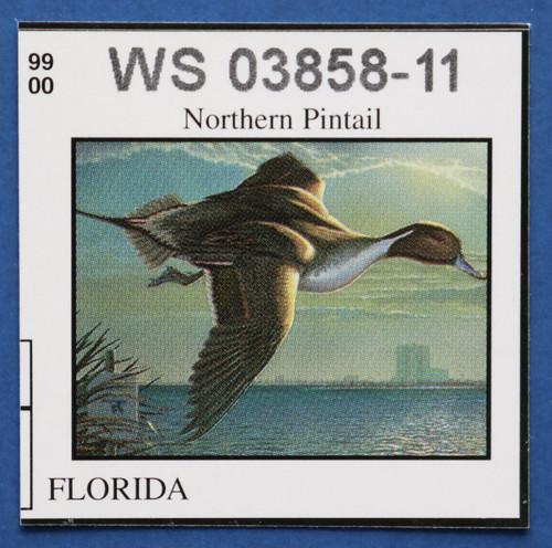 1999 Florida State Duck Stamp (FL21)