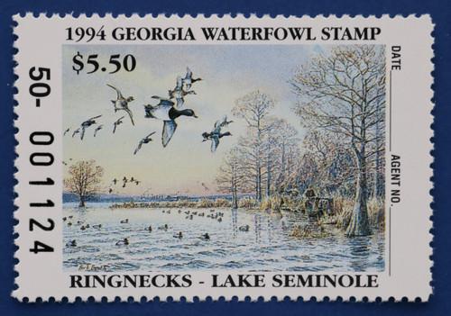 1994 Georgia State Duck Stamp (GA10)