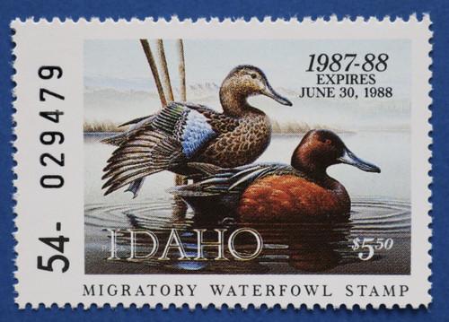 1987 Idaho State Duck Stamp (ID01)