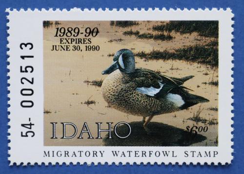 1989 Idaho State Duck Stamp (ID03)
