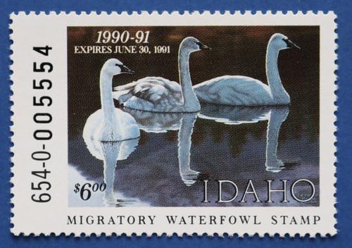 1990 Idaho State Duck Stamp (ID04)