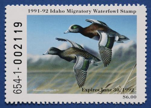 1991 Idaho State Duck Stamp (ID05)
