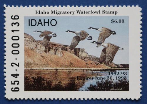 1992 Idaho State Duck Stamp (ID06)