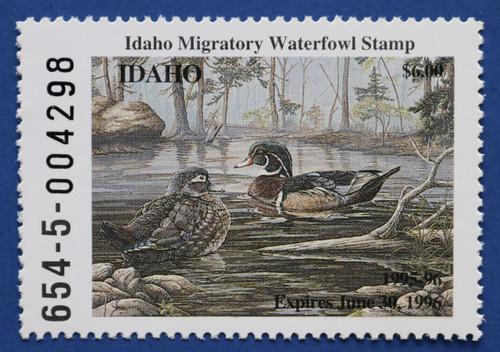 1995 Idaho State Duck Stamp (ID09)