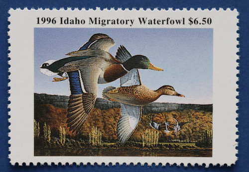 1996 Idaho State Duck Stamp (ID10)