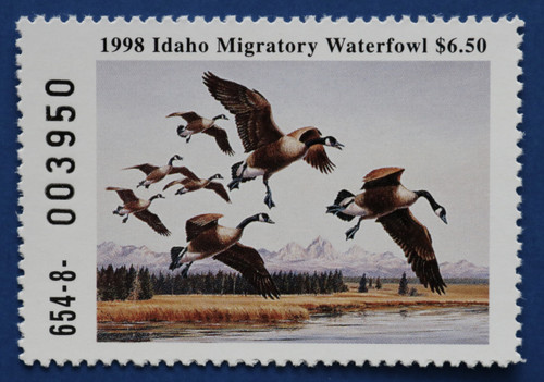 1998 Idaho State Duck Stamp (ID12)
