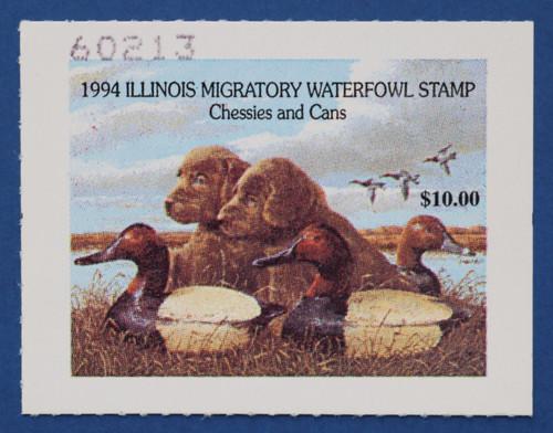 1994 Illinois State Duck Stamp (IL20)