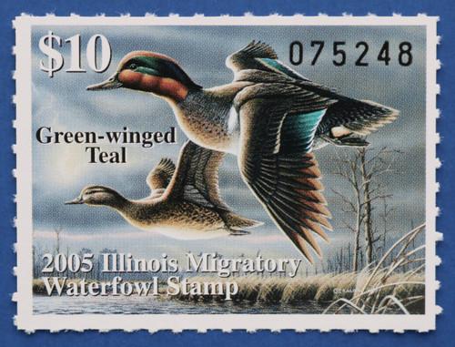 2005 Illinois State Duck Stamp (IL31)