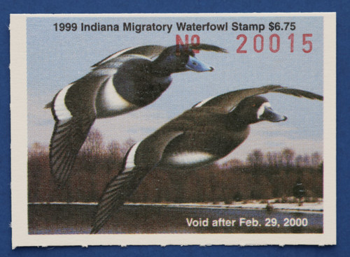 1999 Indiana State Duck Stamp (IN24)
