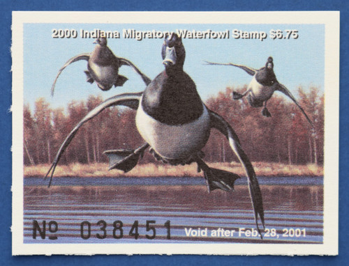 2000 Indiana State Duck Stamp (IN25)
