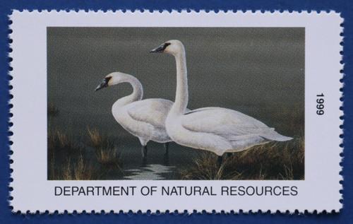 1999 Iowa State Duck Stamp (IA28)