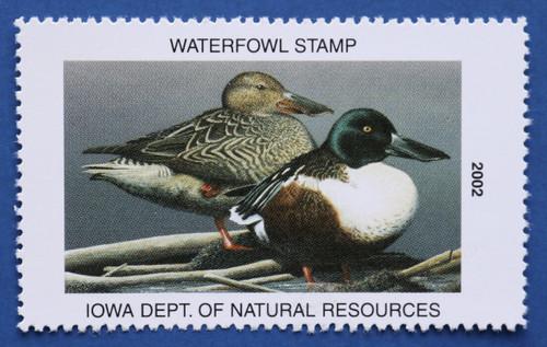 2002 Iowa State Duck Stamp (IA31)