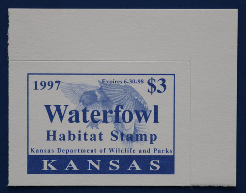 1997 Kansas State Duck Stamp (KS11)