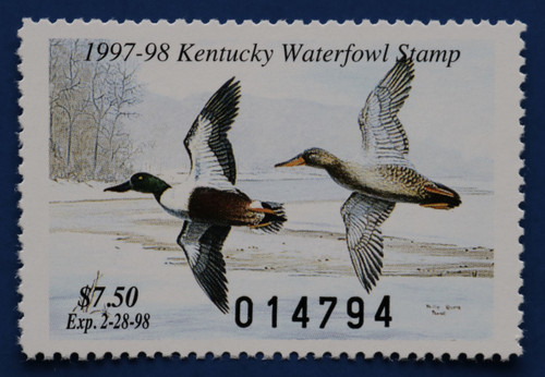1997 Kentucky State Duck Stamp (KY13)