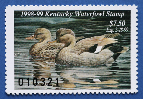 1998 Kentucky State Duck Stamp (KY14)