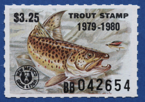 1979 New Mexico Trout Stamp (NMT21)