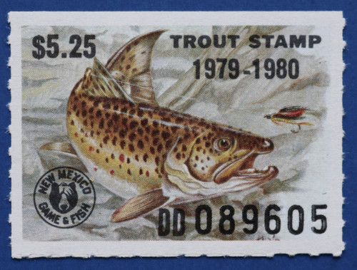 1979 New Mexico Trout Stamp (NMT23)