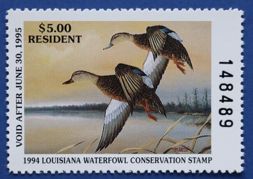 1994 Louisiana State Duck Stamp (LA06)