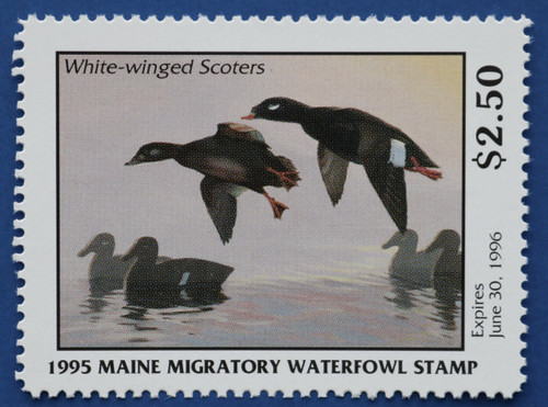 1995 Maine State Duck Stamp (ME12)