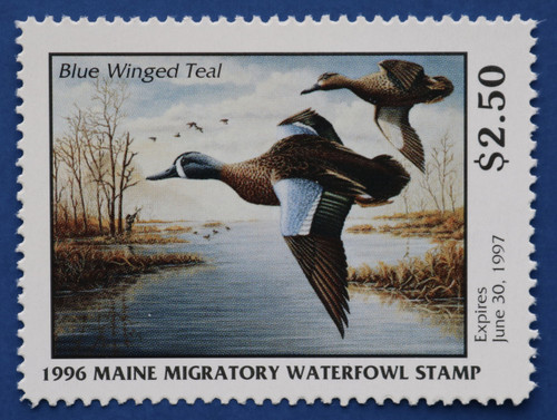 1996 Maine State Duck Stamp (ME13)