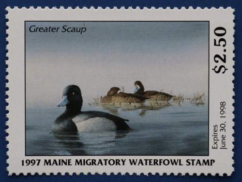 1997 Maine State Duck Stamp (ME14)