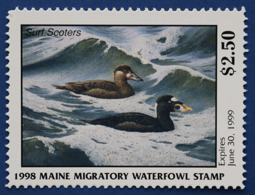 1998 Maine State Duck Stamp (ME15)
