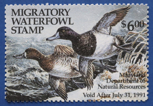 1990 Maryland Migratory Waterfowl Stamp (MD17)