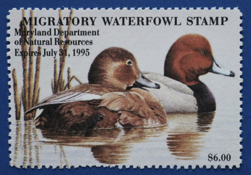 1994 Maryland Migratory Waterfowl Stamp (MD21)