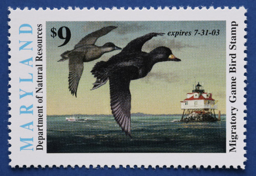 2002 Maryland Migratory Waterfowl Stamp (MD29)