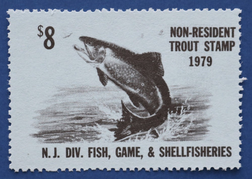 1979 New Jersey Nonresident Trout Stamp (NJT54)