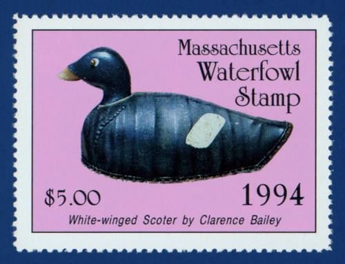 1994 Massachusetts Waterfowl Stamp (MA21)